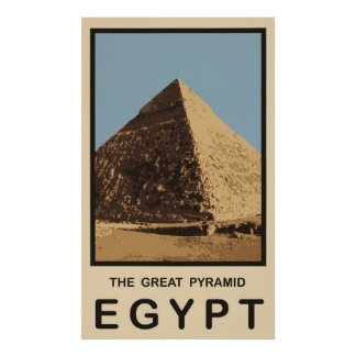 The Great Pyramid Egypt Poster