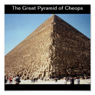 The Great Pyramid of Cheops Print