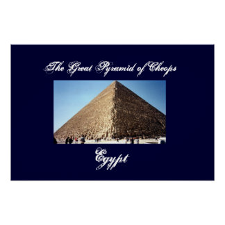 The Great Pyramid of Cheops Wall Poster
