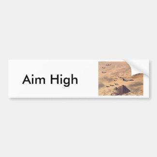The Great Pyramid of Giza Car Bumper Sticker