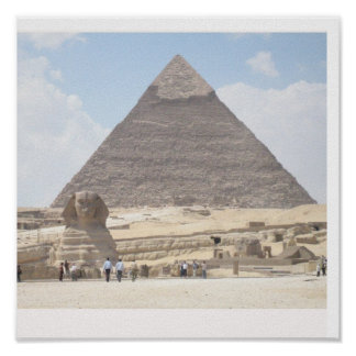 The Great Pyramid of Giza, Eygpt Poster