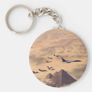 The Great Pyramid of Giza Key Chain