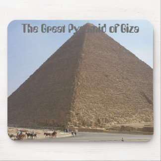 The Great Pyramid of Giza Mousepads