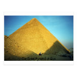 The Great Pyramid of Giza Post Cards