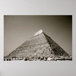 The Great Pyramid of Khafre at Giza Poster