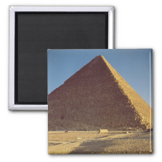 The Great Pyramid of Khufu  Old Kingdom 2 Inch Square Magnet