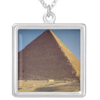 The Great Pyramid of Khufu  Old Kingdom Square Pendant Necklace
