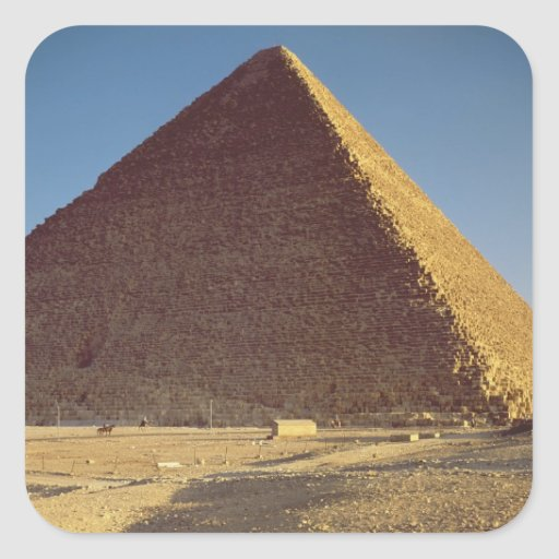 The Great Pyramid of Khufu  Old Kingdom Square Sticker