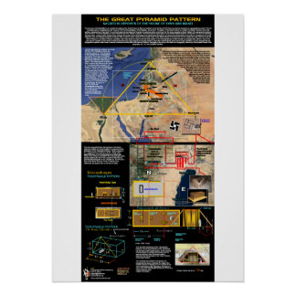 The Great Pyramid Pattern 1 Print