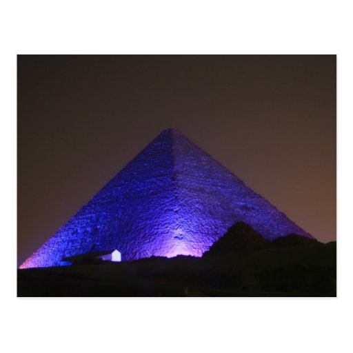 The Great Pyramid Postcard