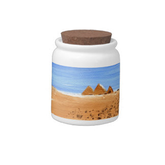The Great Pyramids Candy Jars