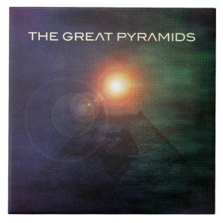 The Great Pyramids Ceramic Tile
