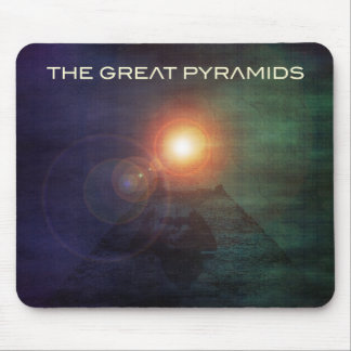 The Great Pyramids Mousepads