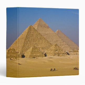 The Great Pyramids of Giza, Egypt 3 Ring Binder