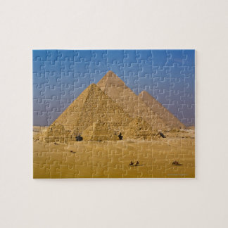 The Great Pyramids of Giza, Egypt Jigsaw Puzzle