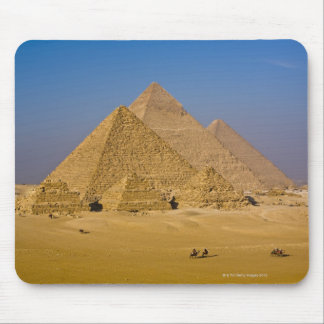 The Great Pyramids of Giza, Egypt Mouse Pad