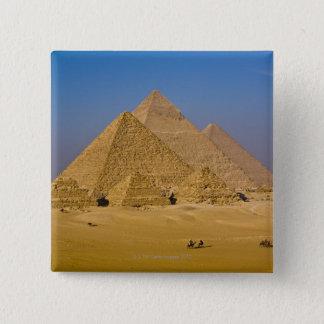 The Great Pyramids of Giza, Egypt Pinback Button