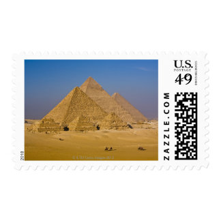 The Great Pyramids of Giza, Egypt Postage Stamp