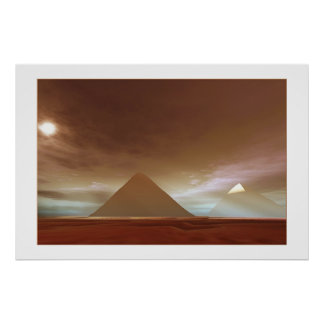 THE  GREAT  PYRAMIDS  PRINT