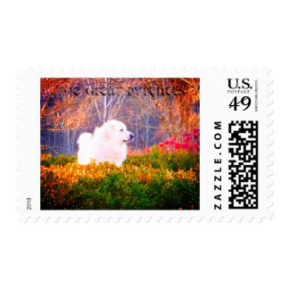 The Great Pyrenees Postal Stamp