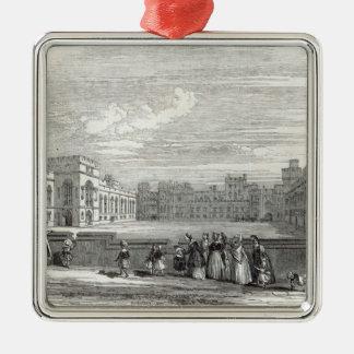 The Great Quadrangle, Windsor Castle Metal Ornament