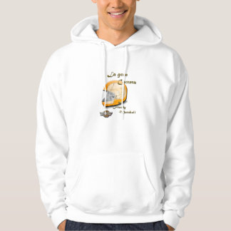 The great race by Freddy Marshall Hooded Pullover