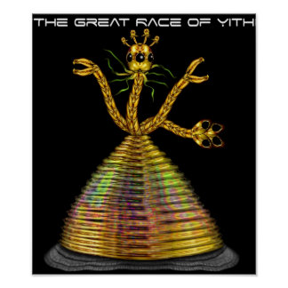 The Great Race of Yith Poster