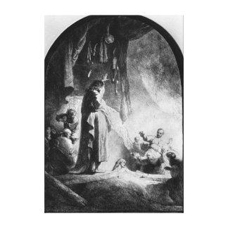 The Great Raising of Lazarus Canvas Print
