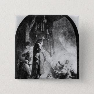 The Great Raising of Lazarus Pinback Button