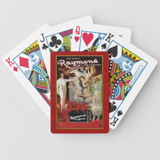 The Great Raymon ~ Weird Witches Cabinet Bicycle Playing Cards
