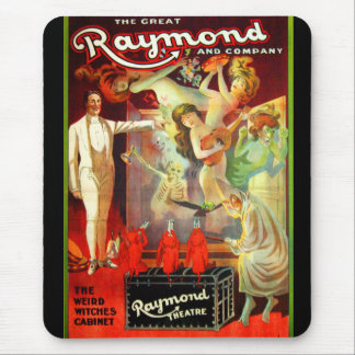 The Great Raymond! Mouse Pad
