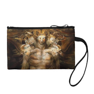 The Great Red Dragon and the Beast from the Sea Change Purses