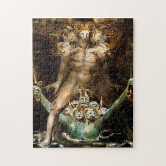 The Great Red Dragon and the Beast from the Sea Jigsaw Puzzle