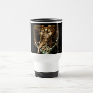 The Great Red Dragon and the Beast from the Sea Travel Mug