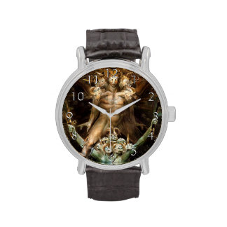 The Great Red Dragon and the Beast from the Sea Wristwatches