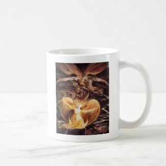 The Great Red Dragon And The Woman Clothed Coffee Mug