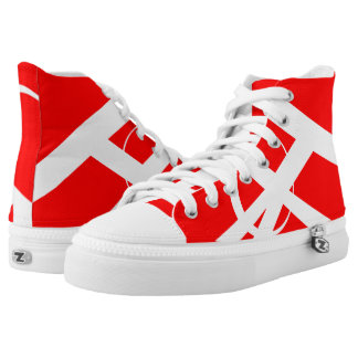 The Great Red North Portal Hi-Top