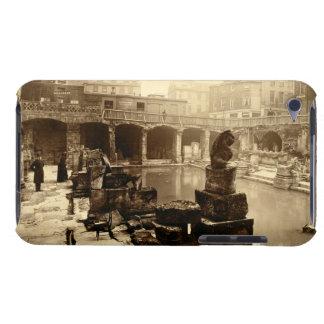The Great Roman Bath, Bath (b/w photo) Barely There iPod Cover