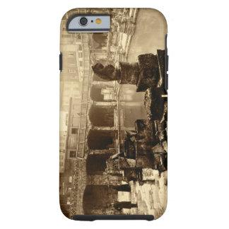 The Great Roman Bath, Bath (b/w photo) Tough iPhone 6 Case