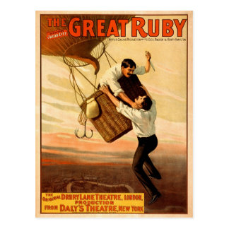 The Great Ruby, 1899 Postcard