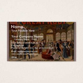 The Great Ruby Business Card