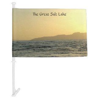 The Great Salt Lake Car Flag