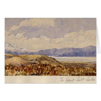 The Great Salt Lake Greeting Cards