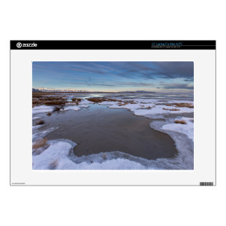 "The Great Salt Lake in Utah Sunrise 15"" Laptop Skins"