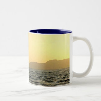 The Great Salt Lake Two-Tone Coffee Mug