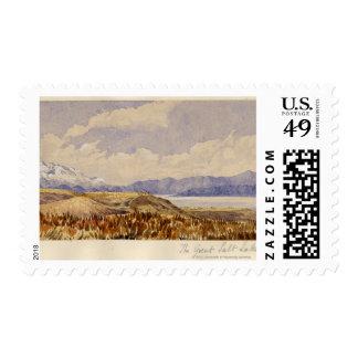 The Great Salt Lake, Utah Postage
