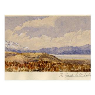 The Great Salt Lake, Utah Postcard