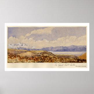The Great Salt Lake Utah Poster