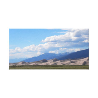 The Great Sand Dunes, Colorado Canvas Print