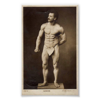 The Great Sandow Posters